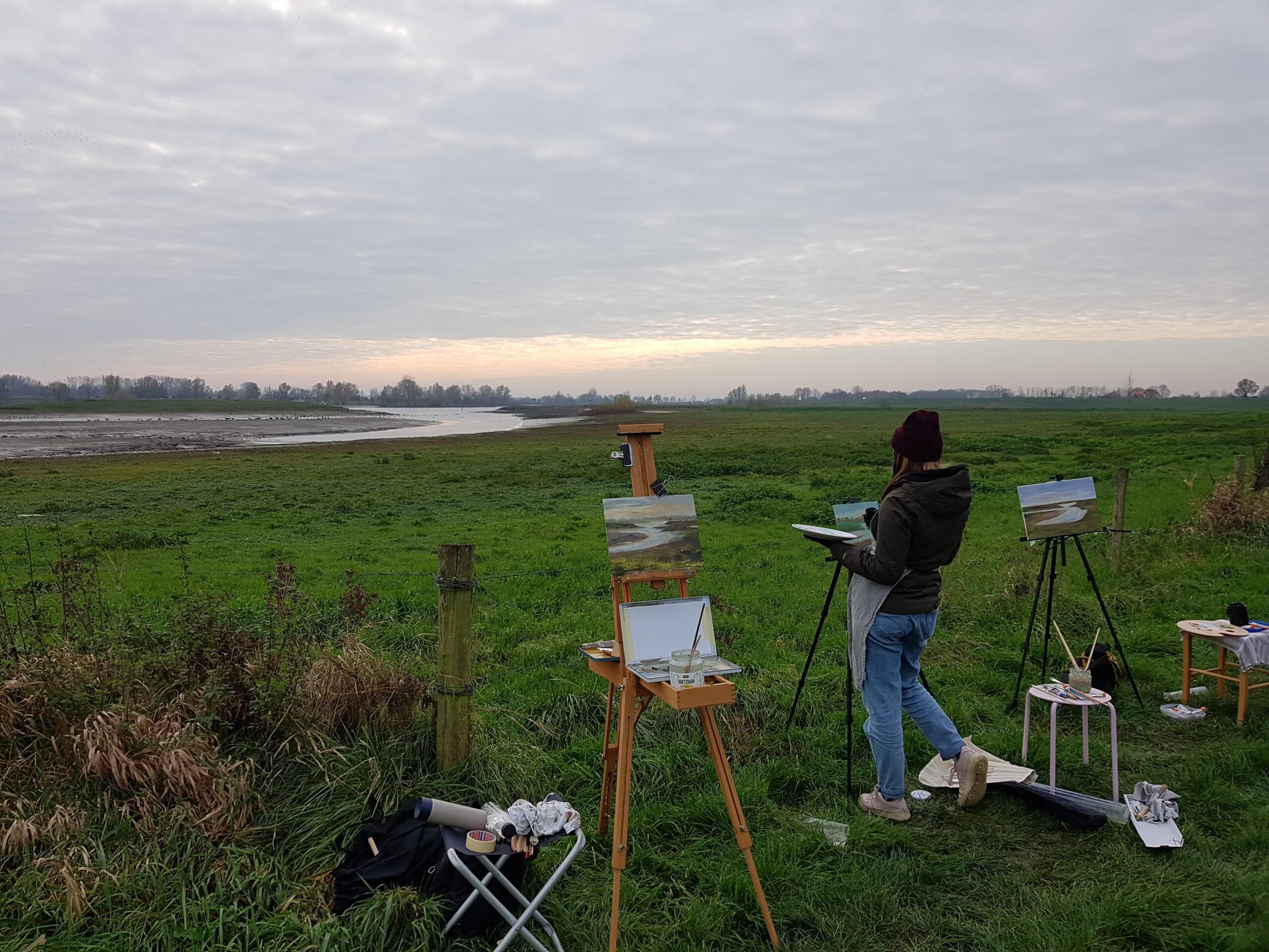 workshop plein air | landschapsschilderen